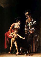 Caravaggio Madonna Palafrenieri